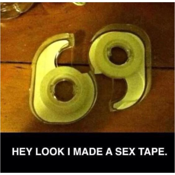 Hey look!  I made a sex tape.
