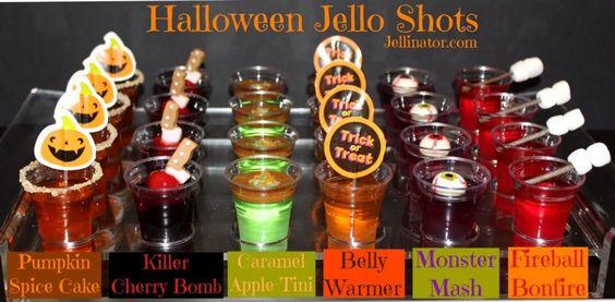 HALLOWEEN JELLO SHOTS - Jellinator.com