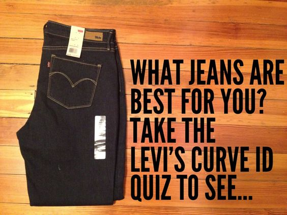 Take the jeans quiz to find out which type/style of jean works best for your body.