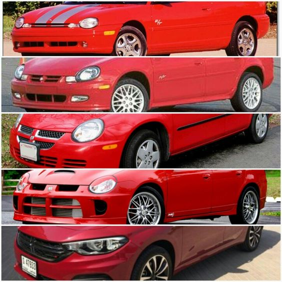 Evolution Of The Dodge Neon Car Bmw Car Cars