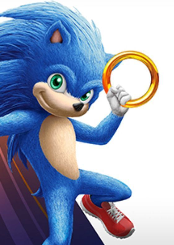 First Look At Sonic The Hedgehog S Movie Design Thanks To Leak Hedgehog Movie Sonic The Hedgehog Sonic