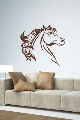 #Wandtattoo #Pferdekopf