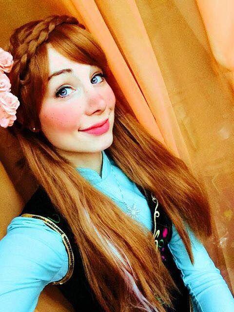 Excellent Princess Anna Hairstyle Long Hairstyles Pinterest Anna Short Hairstyles Gunalazisus