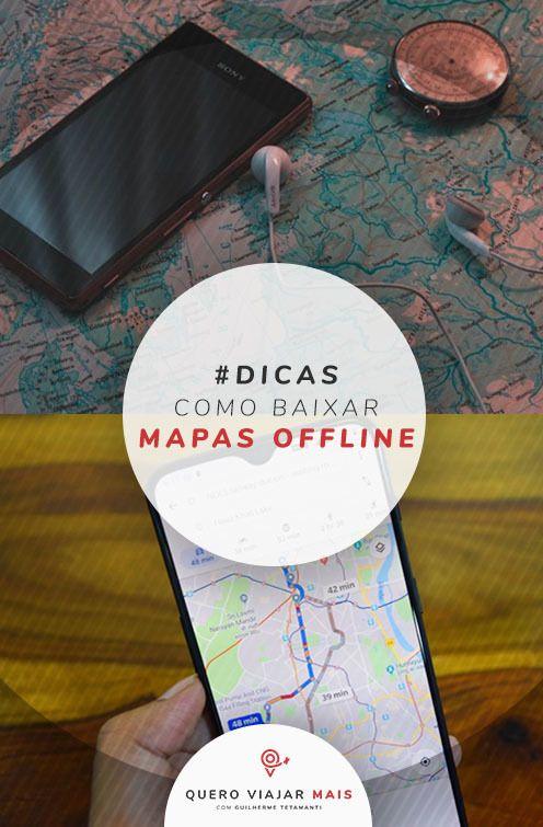 Gps Sem Internet Como Baixar Mapas Offline Para Viajar