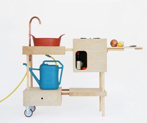 outdoor kitchen by Nina Tolstrup