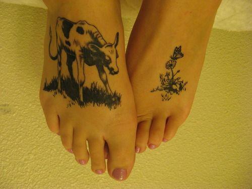 ferdinand the bull foot tattoo