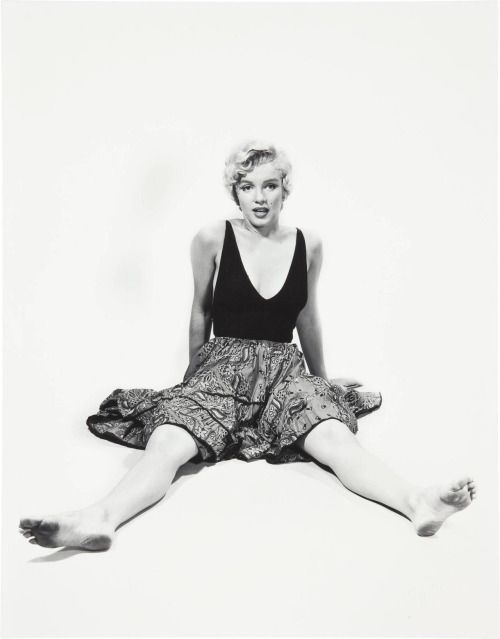 1954: Marilyn by Philippe Halsman.