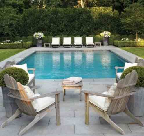 When I get a home the first thing I am building is a pool like this. I love to swim. It feels so awesome. You can heat your pool during the winter and swim year round. I plan on it for sure.~JEN