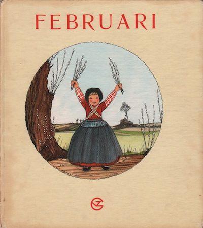 Rie Cramer, maandenboeken : Februari, sprokkelmaand. 1:
