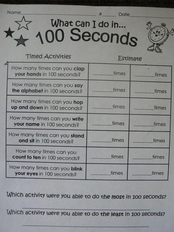 100 seconds of fun