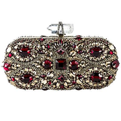 Baroque Women's Fashion | ... at Bergdorf Goodman Clutch - Baroque Fashion Trend - Marie Claire