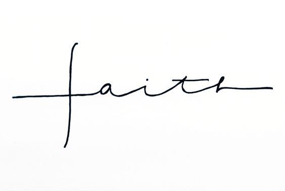 Faith Tattoo Cross