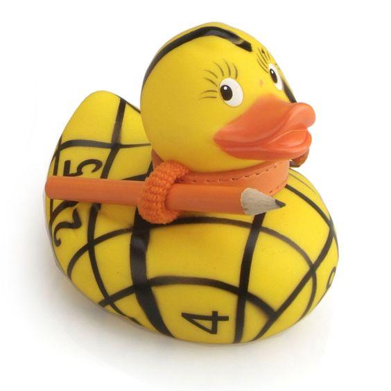 Sue Ducku Rubber Duck Bath Toy