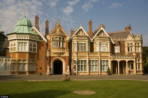 Bletchley Park - also known as Station X - was where Turing, along with Cambridge mathemat...