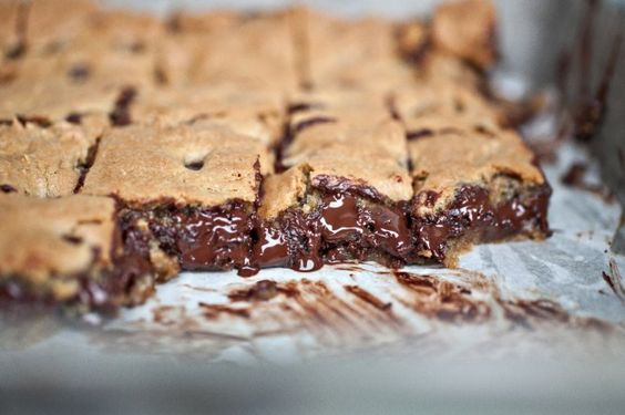 Chocolate Chip Toffee Bars..Lord have mercy.: