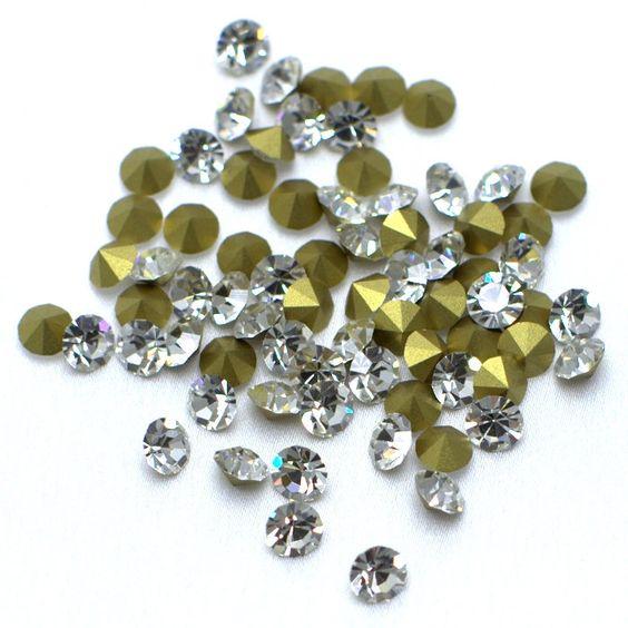 Strass preciosa ss24 cristal - Maximus Tecidos   Loja Online