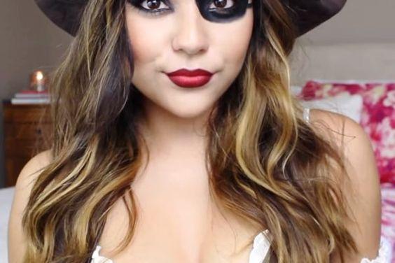 Pirate Halloween Makeup
