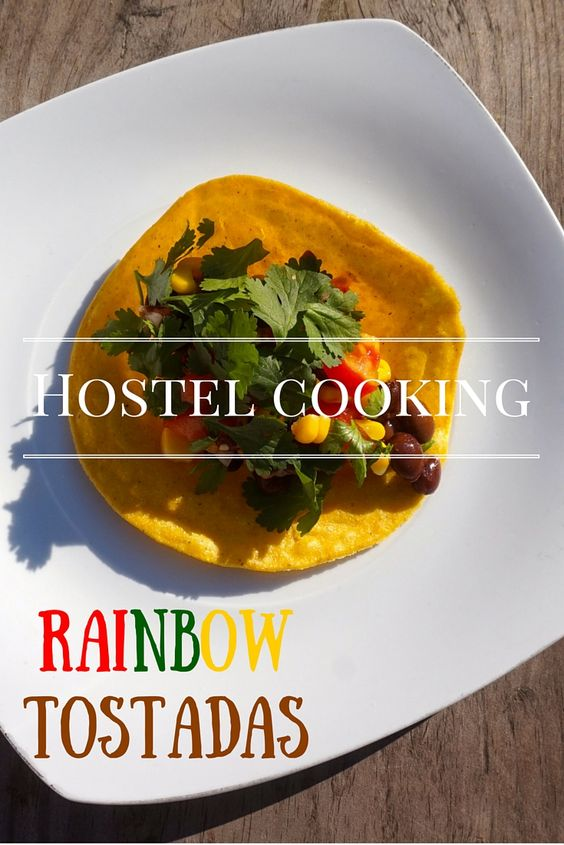 A simple, easy and healthy meal perfect to make in a hostel, small apartment kitchen or even camping.