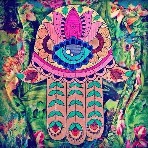hamsa trippy wallpaper tumblr - photo #21
