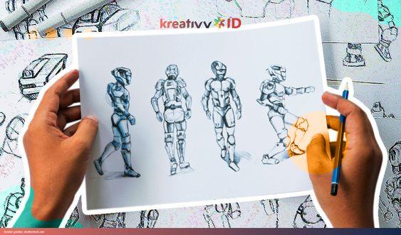 Contoh Gambar Sketsa Hewan Dan Tumbuhan Cara Membuat Desain Karakter Sketsa Gambar Hewan Dan Tumbuhan Garlerisket Sketsa Hewan Gambar Ilustrasi Kartun
