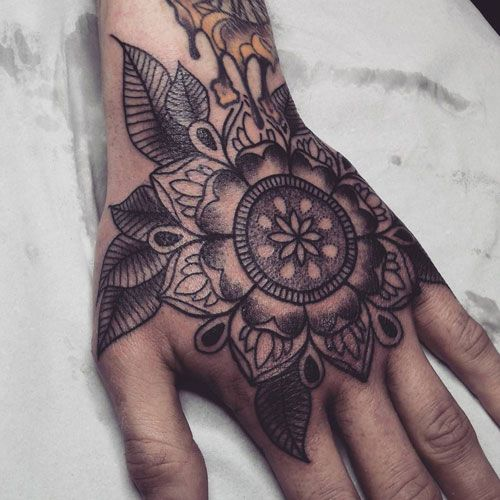 125 Best Hand Tattoos For Men Cool Designs Ideas 2019 Guide Hand Tattoos For Guys Mandala Hand Tattoos Hand Tattoos