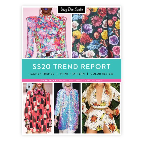 Ss20 Trend Report Icons Themes Print Pattern Color Review