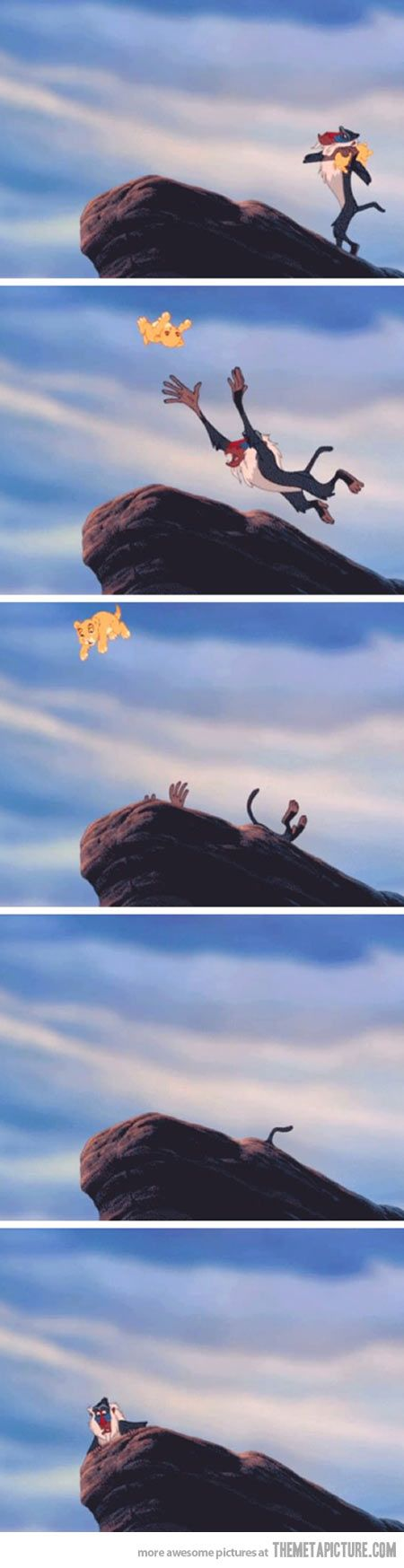 I missed this part of the Lion King…