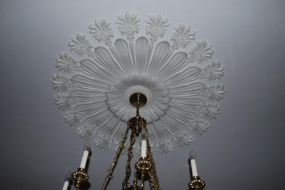 Antique ceiling medallion