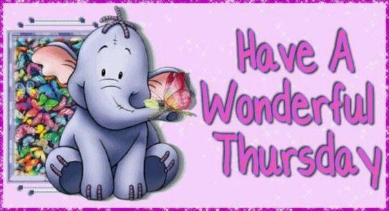 Have A Wonderful Thursday
