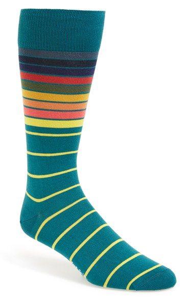 Paul Smith 'Sliding Stripe' Socks