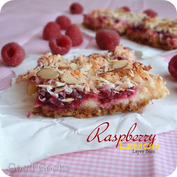 When You Crave for Sweets: Raspberry-Lemon Layer Bars