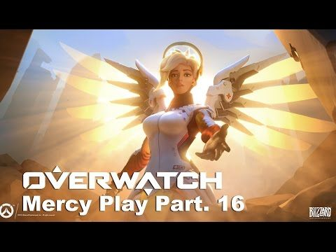 VJ Troll's game video: Overwatch KR Server Play Moments # Mercy Part . 16...