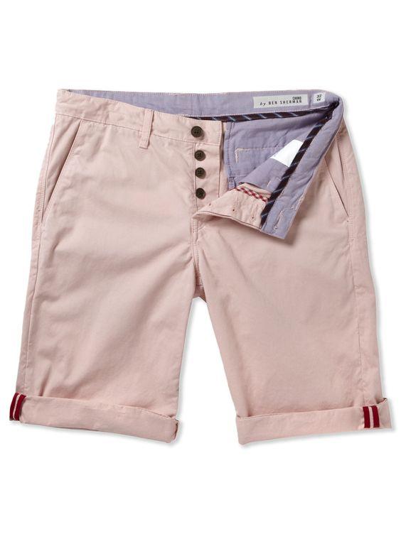 ec1 chino shorts. by ben sherman.