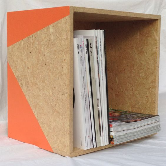 Diverted Design Crate A New Home For Your Magazines Books Or Toys Or