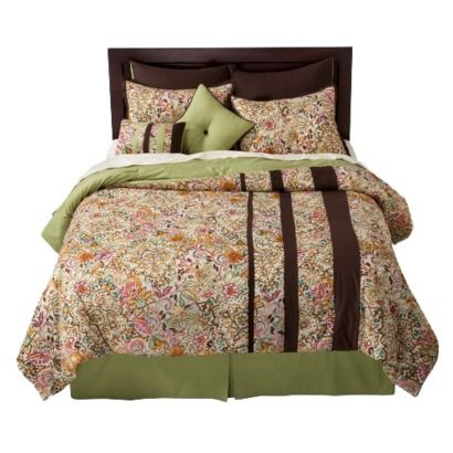 guest room-Salina 8pc Comforter Set. $89.99 target
