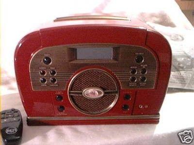 Retro Style Rca Toaster Cd Player Clock Radio Mint Rare