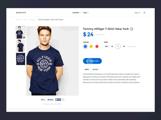 Shopify template - Add to Cart