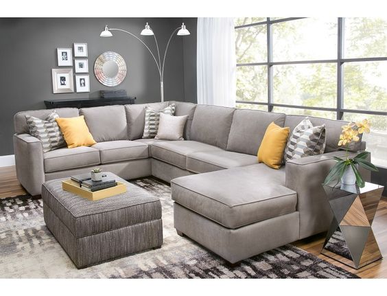 Slumberland Rise Collection 3 Pc Right Chaise Sectional For The Home Pinterest