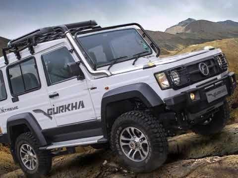 2019 Force Gurkha Xtreme Latest Cars Upcoming Cars Product Launch