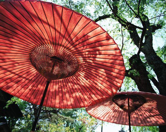 Parasols-Japan