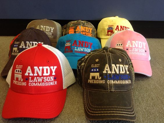 Customize your hats for every campaign need!