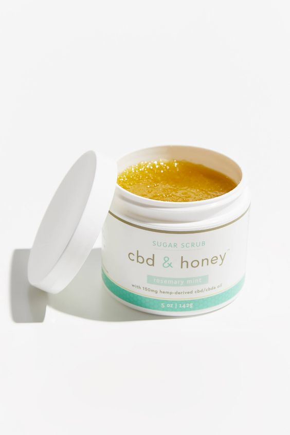Life Elements CBD + Honey Sugar Scrub