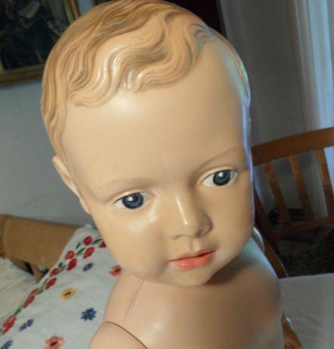 alter-Cellba-Puppe-Baby-Junge-Nr-52-sehr-seltener-Stehkoerper