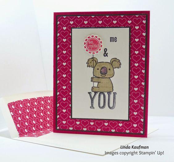 Linda K's Stampin' Page: Valentine's Day Kind Koala Version 2