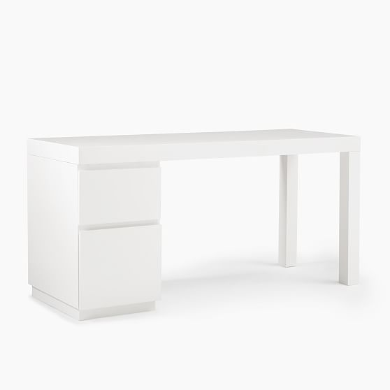 Parsons File Cabinet Desk Set In 2021 File Cabinet Desk Home Office Furniture Desk Cheap Office Furniture White desk with file cabinets
