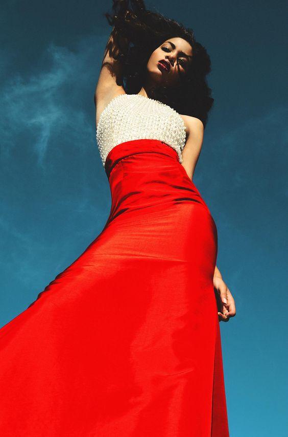 "WOW Fashion Editorial – ""Hair & Air"" by Michael Williams #red"