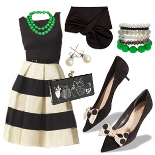 Love this whole outfit! Green Apple Delight from Simply Soles