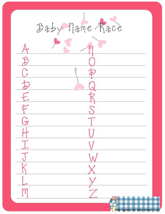 Juegos Para Baby Shower Templates Related Keywords And Tags