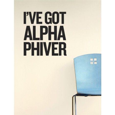 Alpha Phi Phiver Decal: http://www.dormify.com/greek/alpha-phi/alpha-phi-phiver-decal