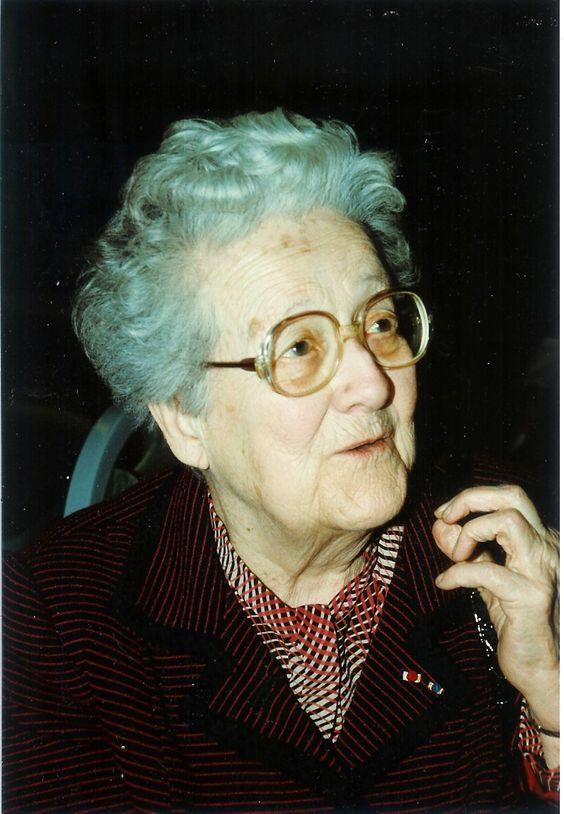 Germaine Tillion - Ethnologue, résistante française, internée en camp de concentration, féministe, militante pour la paix (1907-2008)